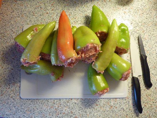 Naplnené papriky